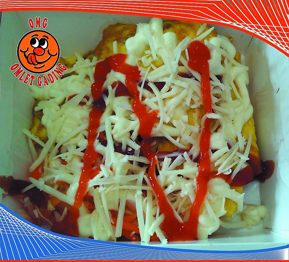 Omlet Gading Favorite Cheese
