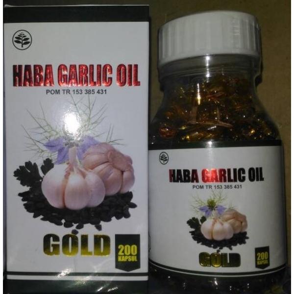 Haba Garlic Oil Gold isi 200