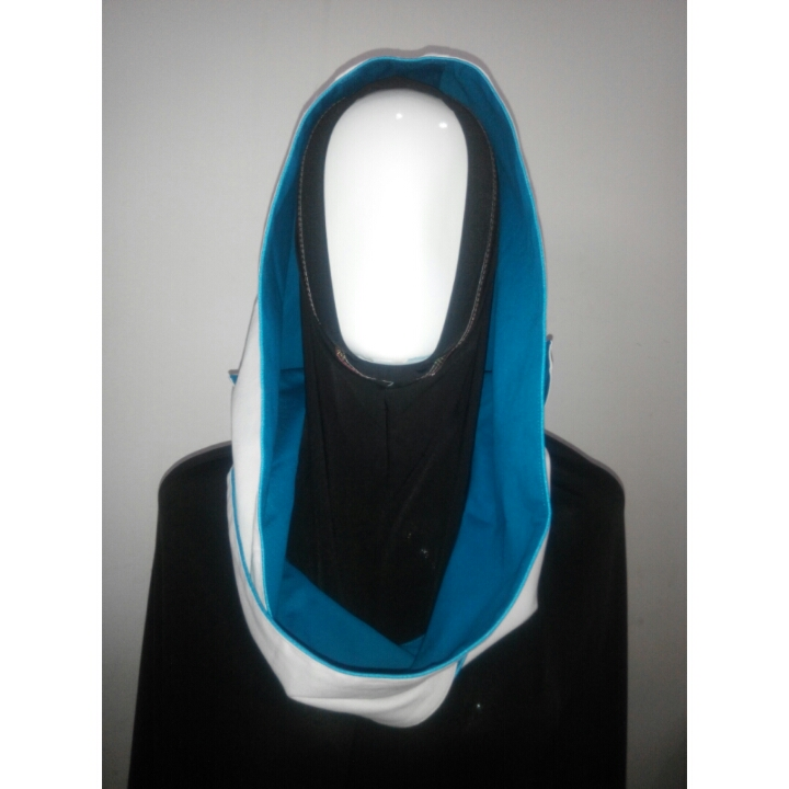 Hoodie Blue Tosca vs Off White