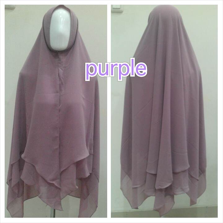 Hijab Syar'i Purple
