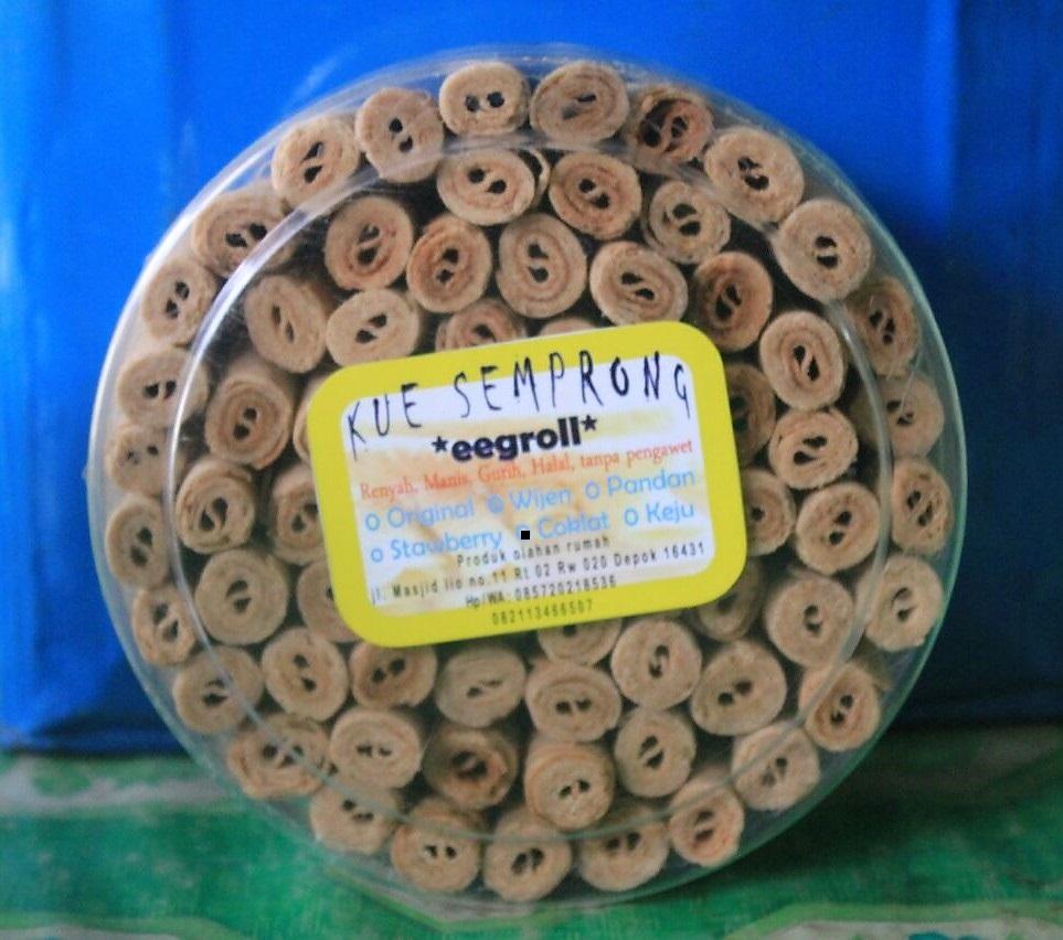 Kue Semprong Eegroll Coklat 500 gr