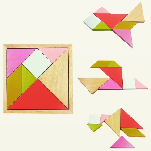 Puzzle Kayu Origami 17 cm