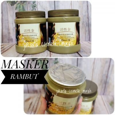24K Active Gold Hair Mask MASKER RAMBUT