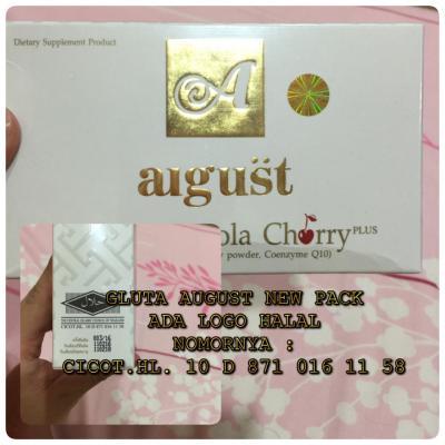 GLUTA ACEROLA CHERRY ORIGINAL HOLOGRAM ( AUGUST )
