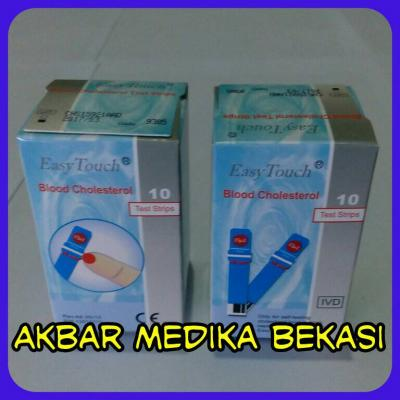JUAL STRIP KOLESTEROL EASY TOUCH MURAH