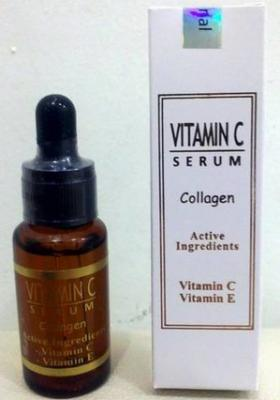 SERUM VITAMIN C E With COLLAGEN