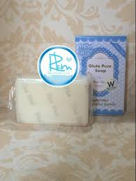 GLUTA PURE MILK SOAP by WINK WHITE JAMIN ORIGINAL