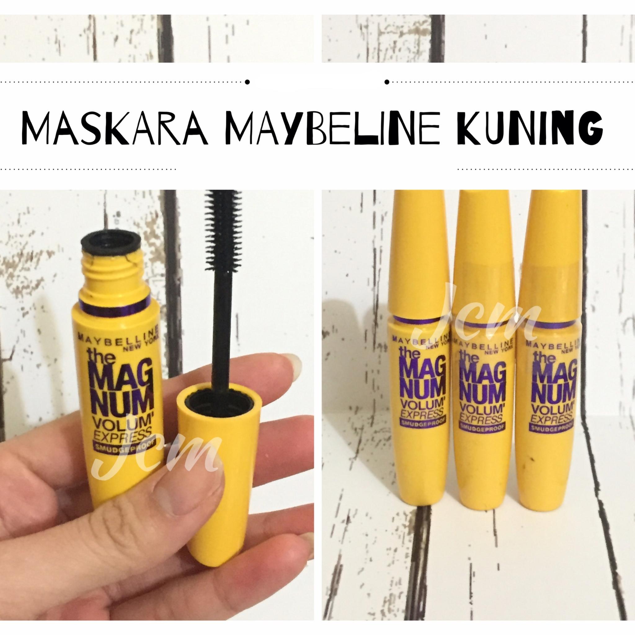 MASCARA MAYBELINE MAGNUM KUNING