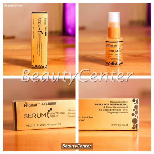 Serum Gold pemutih wajah