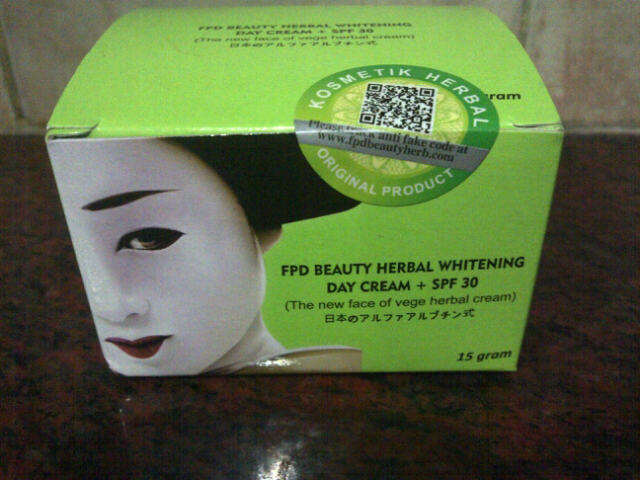 VEGE HERBAL CREAM FPD BEAUTY HERBAL DAY CREAM
